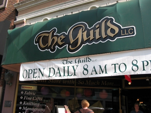 Apr 2008 Day 4  The Guild where price per yard hovered around $12