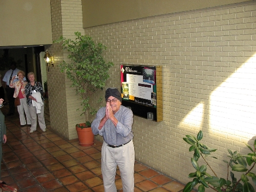 Apr 2008 Day 7  One of husbands pretending to be the hotel owner apologizing for poor service and facilities