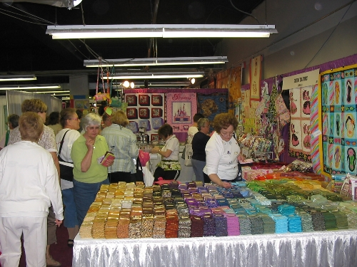Apr 2008 Day 3  The real reason we go to quilt shows