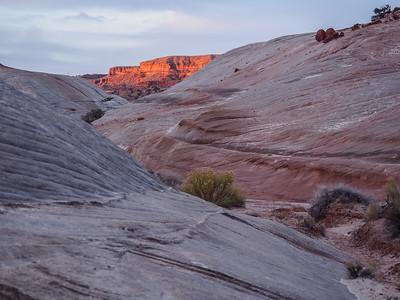 Sunrise on the canyon