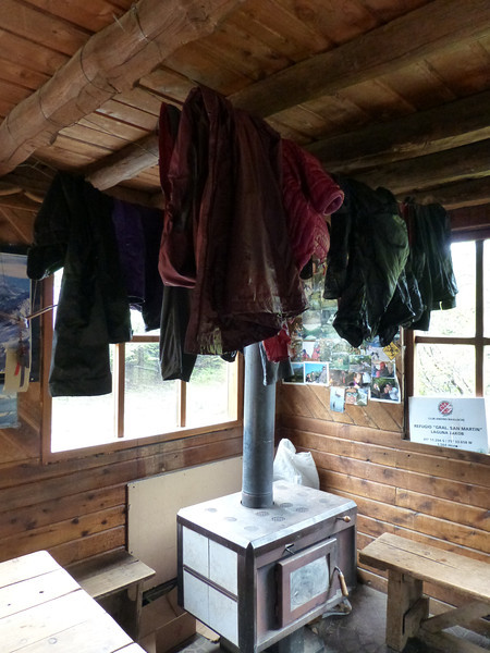 Drying out all of our Clothes