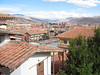This is a shot of downtown Cusco (Plaza de Armas) from our hotel, El Balcon.