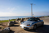 The Boxster at the Dinosaur Caves Park in Pismo beach
