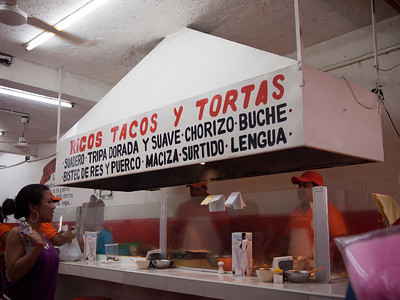 The best taco and torta place we found, ate here 3 times this trip.