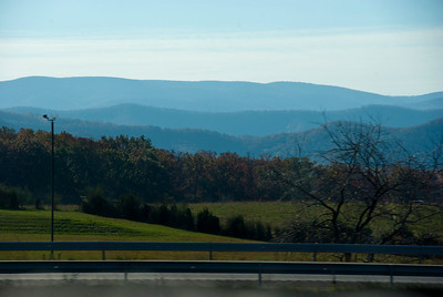 Shenandoah Valley great timing for fall color