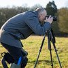 Matt settiing up for some landscape photography in Richmond Park.
