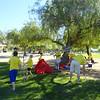 Rinder Family Reunion at Lake Skinner, California