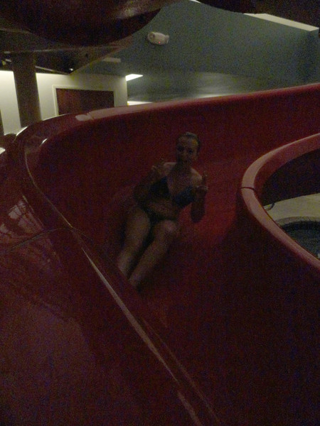 Fun at the hotel.