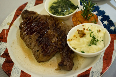 Sterling Steakhouse ribeye