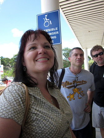 Airport in Roatan