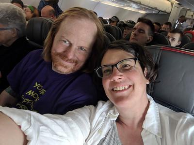 obligatory plane selfie