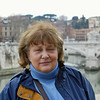 Susan near Castel Sant'Angelo.