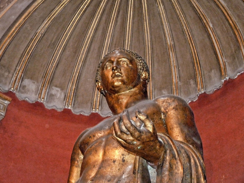 Ancient Roman in the Vatican.
