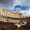 The Colosseum could hold between 50-80,000 spectators. Admission was free, but tickets were required.