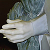 Hand of a statue in the lobby of the Vatican Museum.