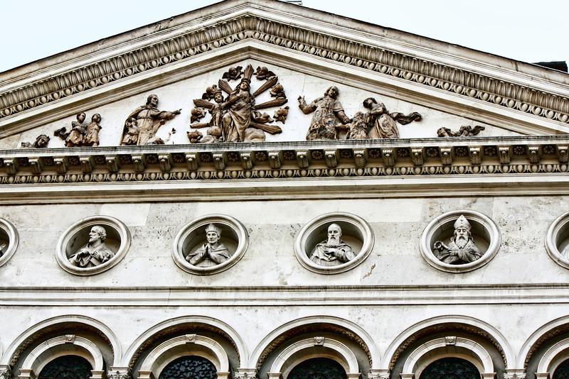 Rome building detail.