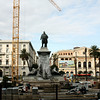 Monument to Camillo Benso, Count Cavour, who helped unify Italy.