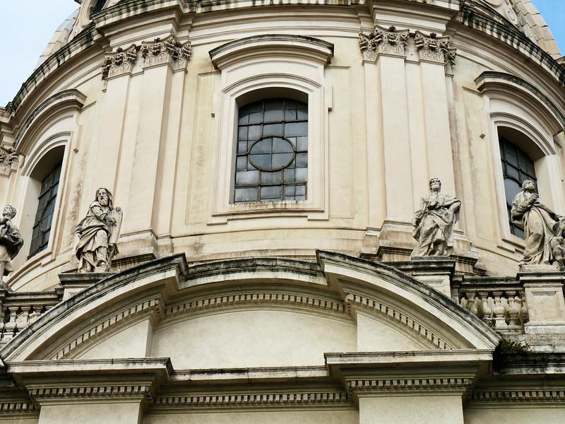 Detail of the 16th Century Church of Santa Maria di Loreto.