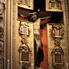 Jesus on the cross in the Church of Santa Maria di Loreto.