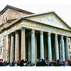 The Pantheon [color enhanced].