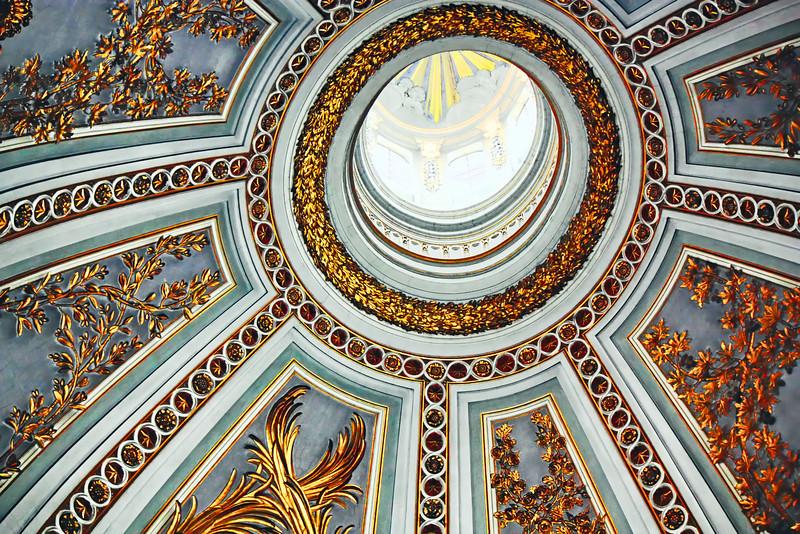 Ceiling of the Church of Santa Maria di Loreto.