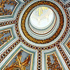Ceiling of the Church of Santa Maria di Loreto.