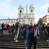 Us on the Spanish Steps.
