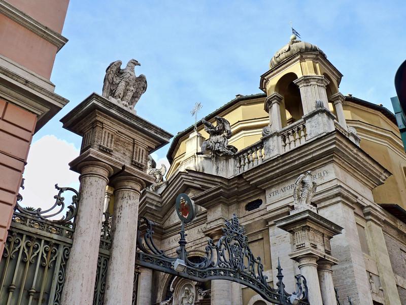 Vatican building.