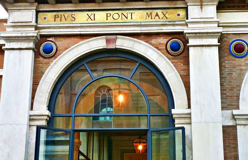 Vatican gallery Pius XI Pont Max.