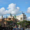 Monument to Victor Emmanuel II, the first king of united Italy.