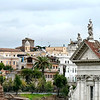 View of the Roman Forum from Palatine Hill.