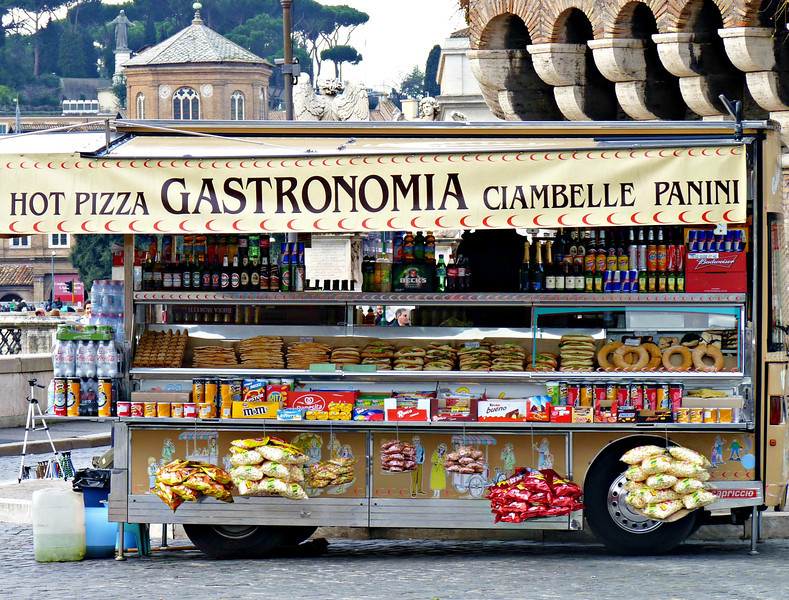 Gastronomia - Italian fast food.