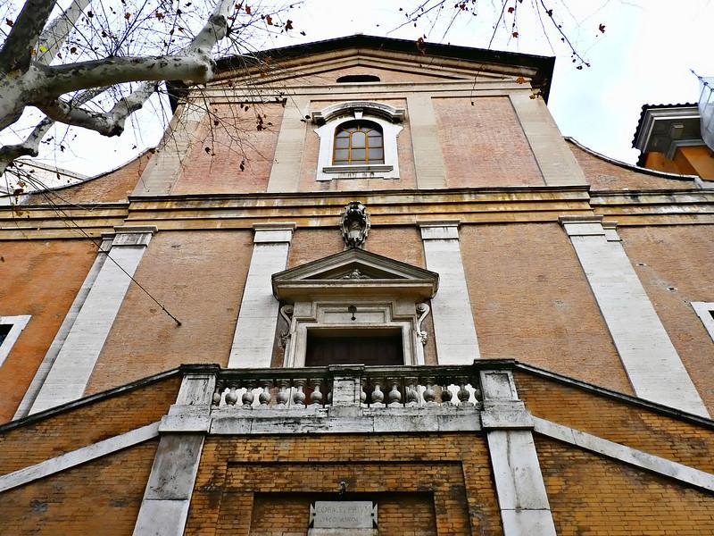The church of Santa Maria della Concezione dei Cappuccini on the Via Veneto.