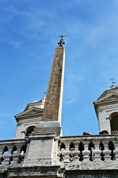 Obelisco Sallustiano. A Roman obelisk modeled after  Egyptian obelisks constructed in the early years of the Roman Empire.