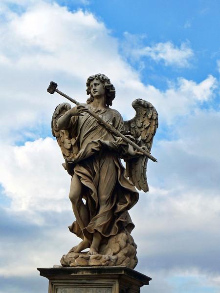 Angel on the Ponte Sant'Angelo.
