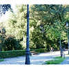 On the grounds of the Villa Borghese - the largest park in Rome.