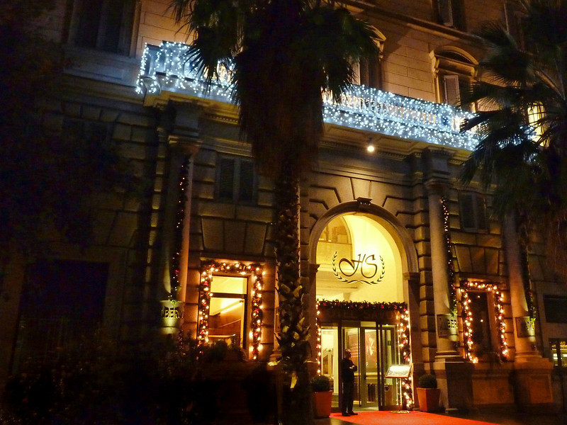 The Hotel Savoy, Rome.
