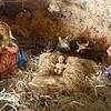 Nativity scene in the Basilica of Our Lady in Trastevere.