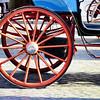 Carriage wheel.