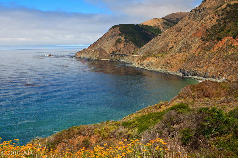 Along US 1 or Cabrillo Highway