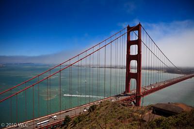 San Francisco hidden by the fog