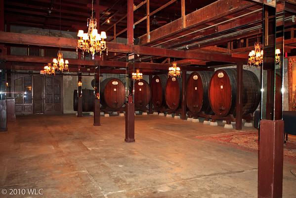 Rubicon Estate Tour, Area where they originally made the wine