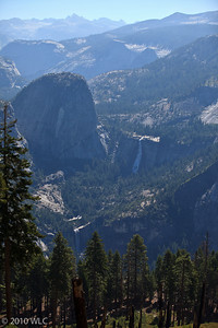 Nevada and Vernal Falls
