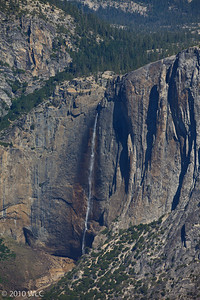 Upper Yosemite Falls as shot from Glaicer Point