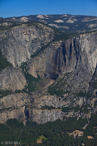 Upper and Lower Yosemite Falls as shot from Glaicer Point