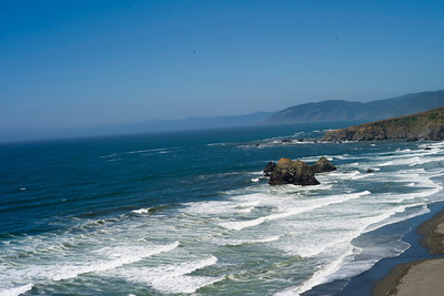 Highway 1, somewhere between Bodega Bay and Fort Bragg