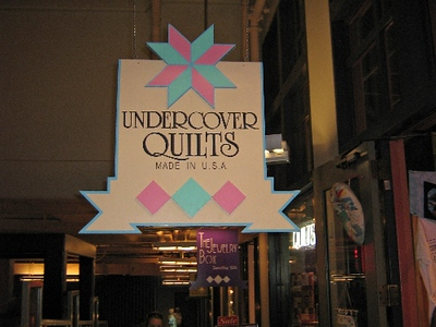 Day 7 Undercover Quilt Store in Pike Market