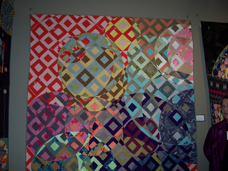 Day 5 Japanese quilts displayed at La Conner Quilt Museum