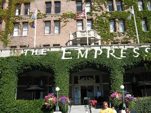 Day 3 Tea at the Empress Hotel