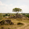 These rock formations are all over Serengeti. Some of them look like a giant stacked boulders by hand.